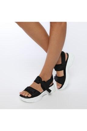 Butigo 19S-342 Siyah Kadın Sandalet 100383169