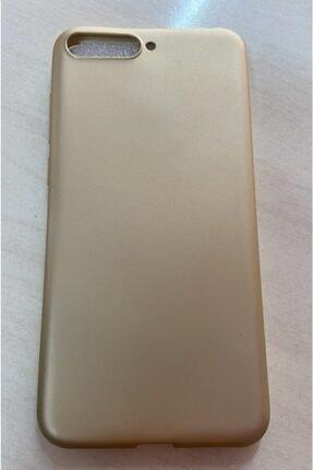 Sunix Huawei Y6 2018 Gold Silikon Kılıf