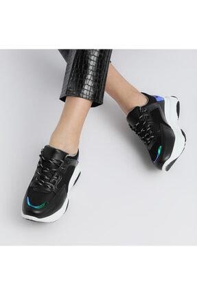 Butigo 19SF-1502-19K Siyah Kadın Sneaker Ayakkabı 100481745