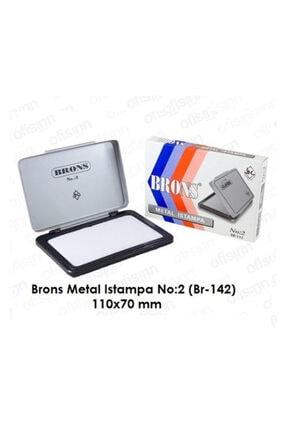 Brons Istampa Metal No:2 11x7 Br-142