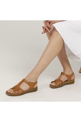 Polaris 91.158589.Z1FX Camel Kadın Sandalet 101020332