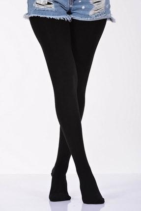 Pattaya Kids Kız Çocuk Siyah Kışlık Külotlu Çorap 2-13 Yaş Pk21s504-2366