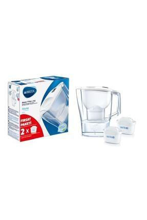 BRITA Aluna Cool Yeni Nesil 2 Filtreli Su Arıtmalı Beyaz Sürahi 2.4lt-türkiye Brita Garantisi Altındadır