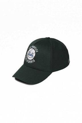 UCLA Jamul Yeşil Baseball Cap Nakışlı Şapka