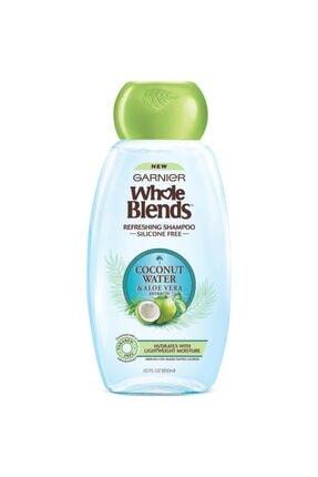 Garnier Whole Blends Coconut Water & Aloe Vera Şampuan 650ml