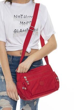 Matthew Cox Kadın Çapraz Çanta Kırmızı 4092