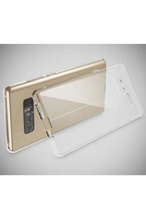 Penguen Samsung Galaxy Note 8 (n950) Uyumlu Kamera Korumalı Şeffaf Silikon Kılıf