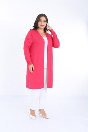 XL Modam Kadın Büyük Beden Likralı Hırka