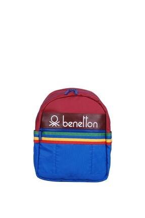 United Colors of Benetton Unisex Benetton Iki Bölmeli Anaokul Çantası 70046