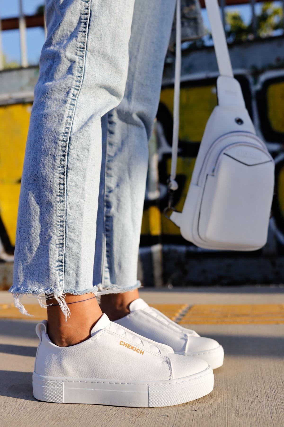 Chekich Ch013 Bt Kadın Ayakkabı Beyaz 2