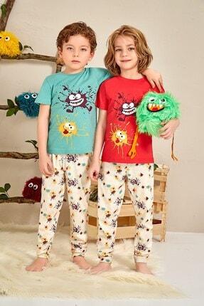 Lohusa Sepeti Erkek Çocuk Splash Pijama Takımı - 0035