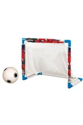 DEDE Unisex Çocuk Beyaz Spiderman Futbol Kalesi