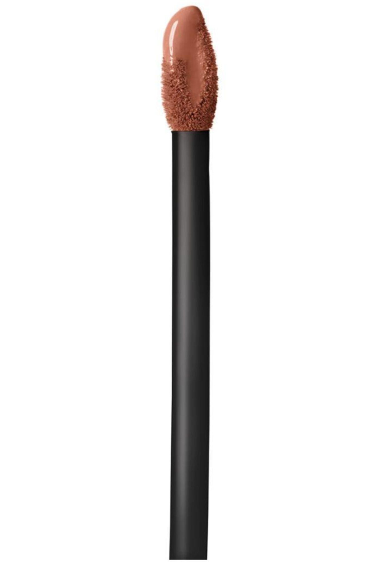Maybelline New York Likit Mat Ruj - SuperStay Matte Ink Liquid Lipstick 75 Fighter 3600531469436 2