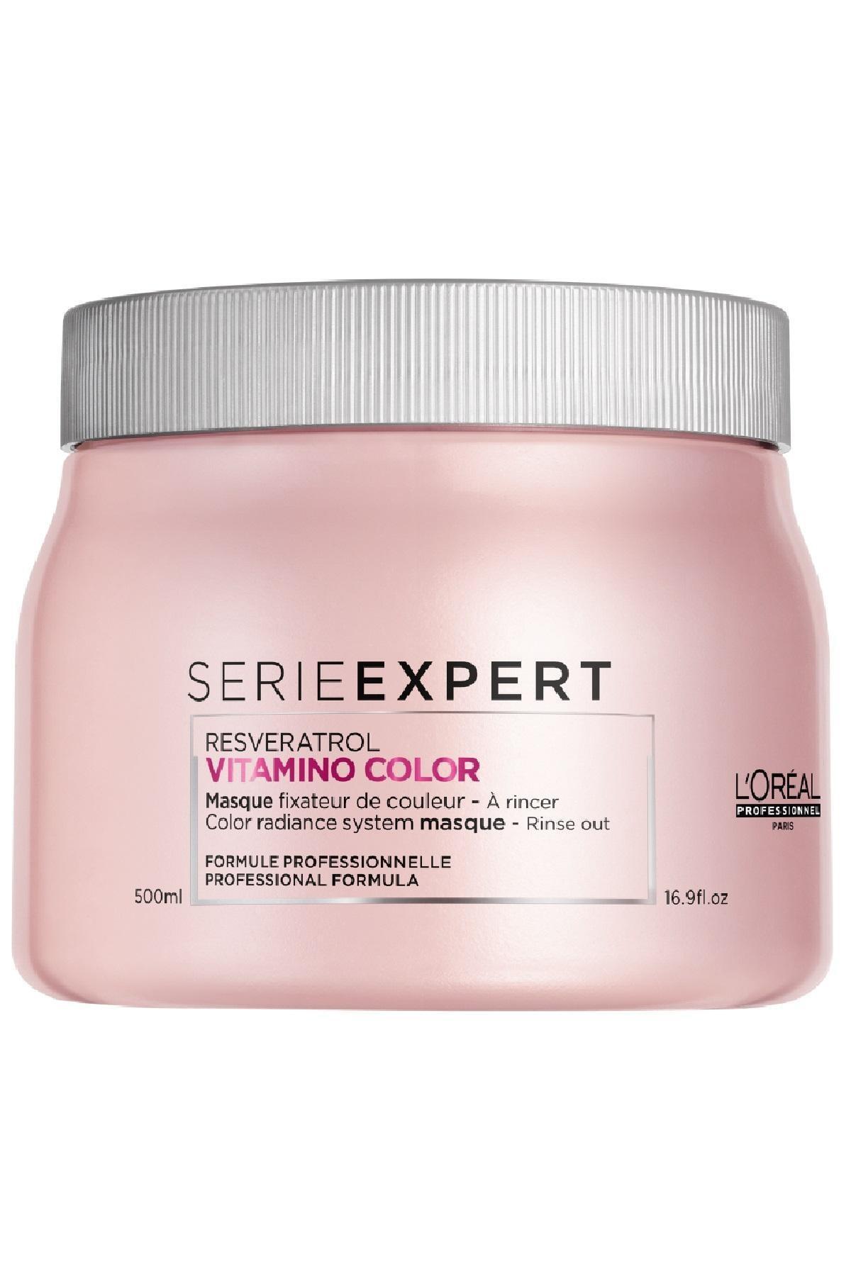 L'oreal Professionnel Loreal Serie Expert Vitamino Color Resveratrol Maskesi 500 ml. 1