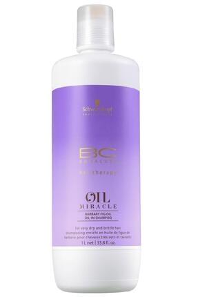 Bonacure Mucize Yağ Frenk Inciri Yağı & Keratin Şampuan 1000 ml