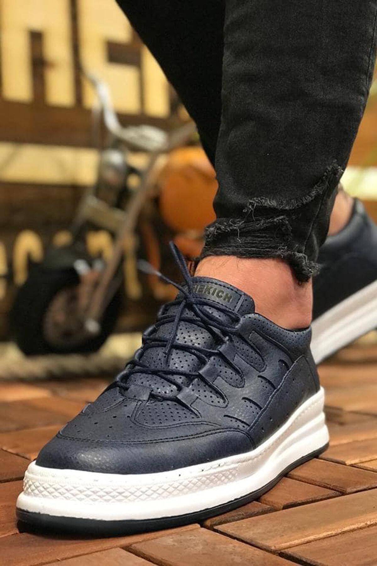 Chekich Lacivert Erkek Sneaker Ch040 1