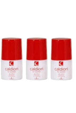 Caldion Edt 50 ml Kadın Deo Roll-on 3lü