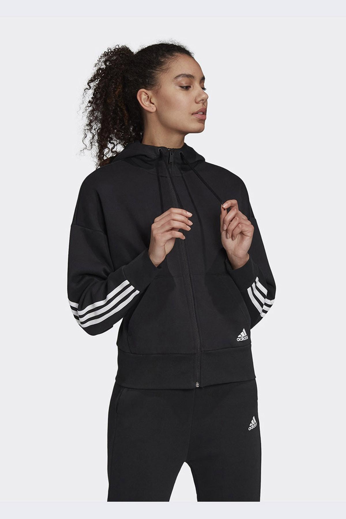 adidas Kadın Günlük Giyim Eşofman Üstü W 3s Dk Fz S Hd Fr5113 1
