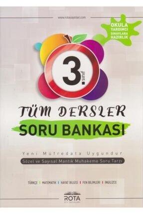 RTY Rota Yayınları 3.Sınıf Tüm Dersler Soru Bankası
