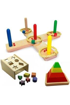 Anka Toyrosso Ahşap Eğitici Oyuncak Koordinasyon Ve Zeka Oyunu