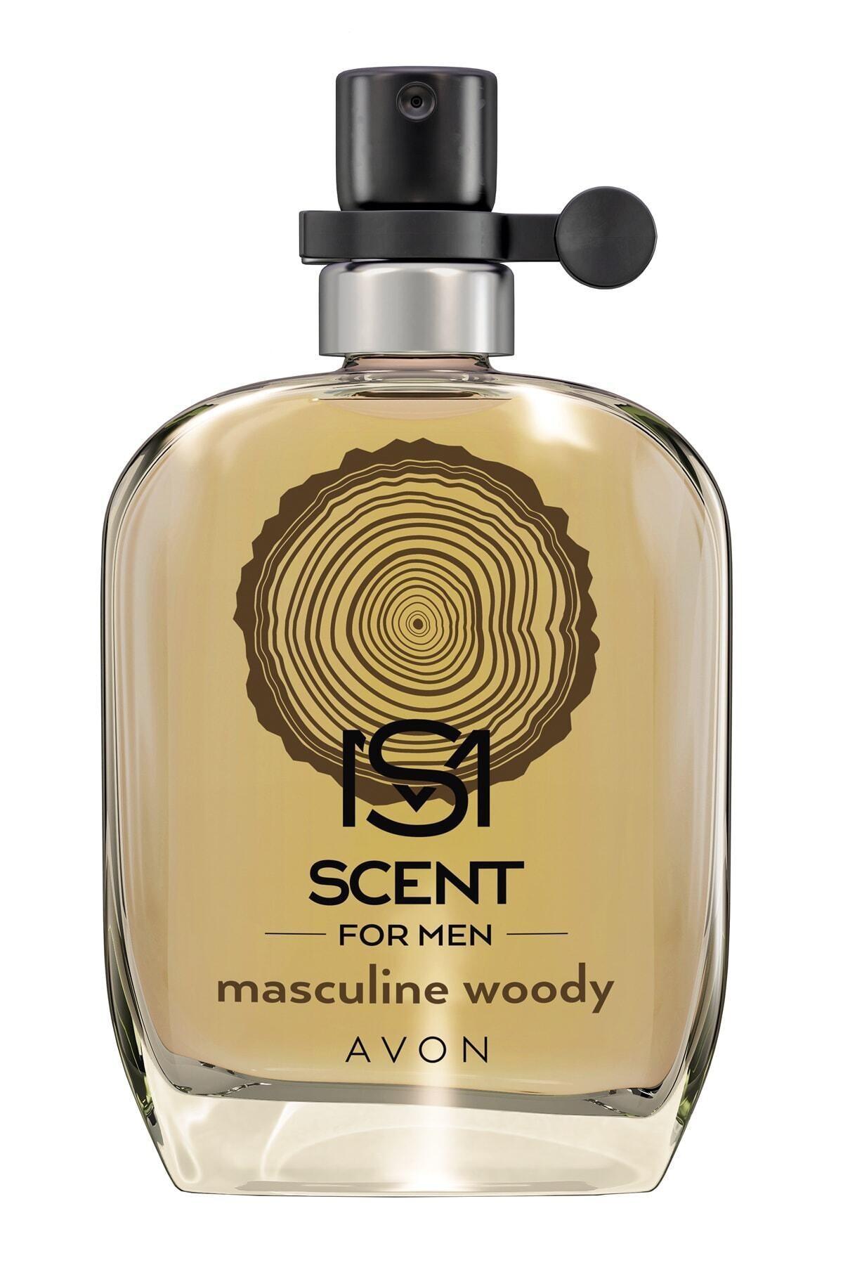 AVON Scent Masculine Woody Edt 30 ml Erkek Parfümü 5059018009234 1