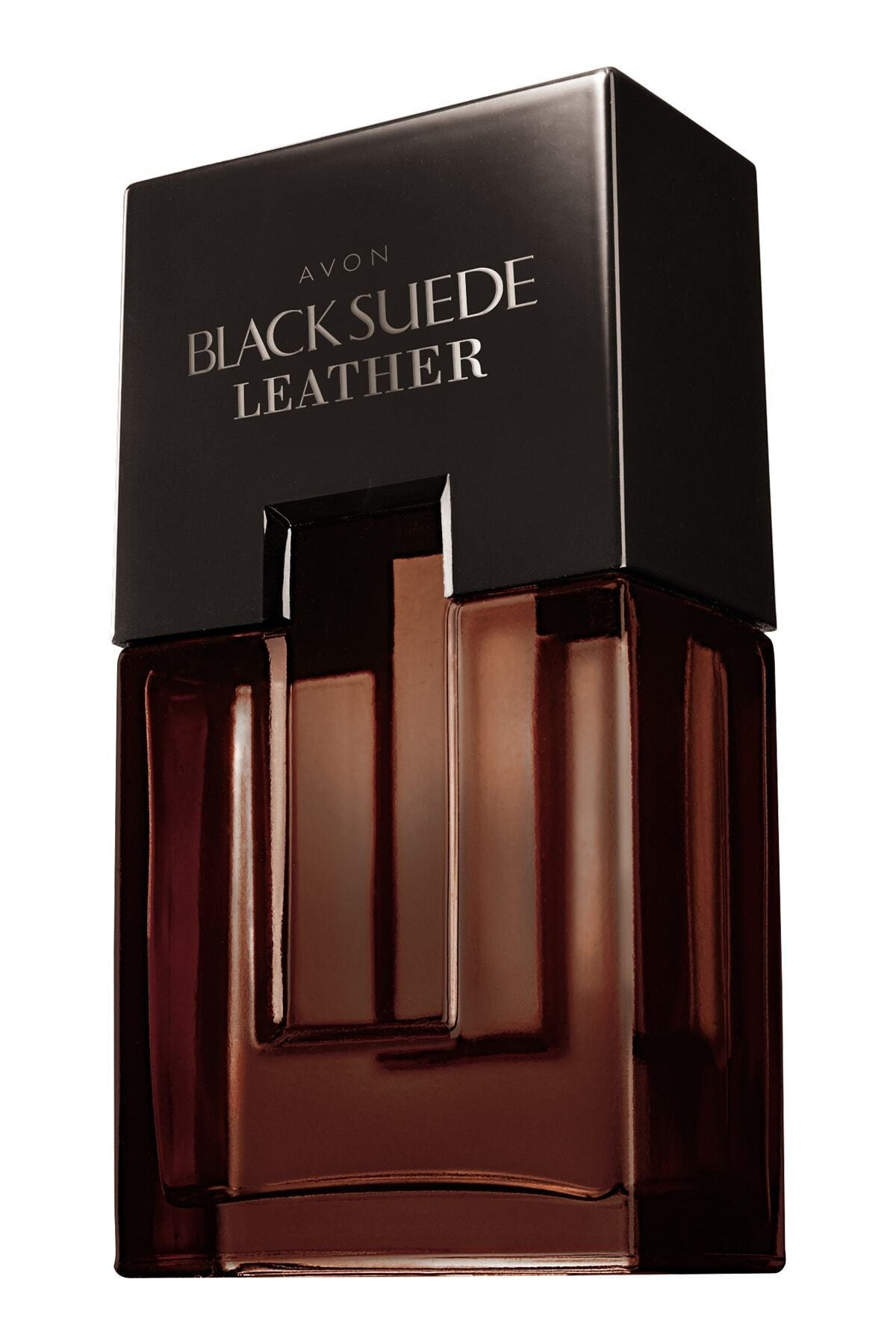 AVON Black Suede Leather Erkek Parfüm Edt 75 ml 5050136088415 1
