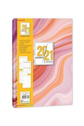 KESKİN COLOR Keskin 17x24 Ciltli Akademik Ajanda (830260) Pink Marble