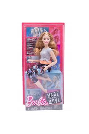 Barbie Moda Sonsuz Hareket Oyuncak Bebek Ftg84