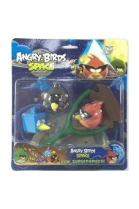 Crazy Baby Angry Birds Space 3'lü Kartela Set - 4011