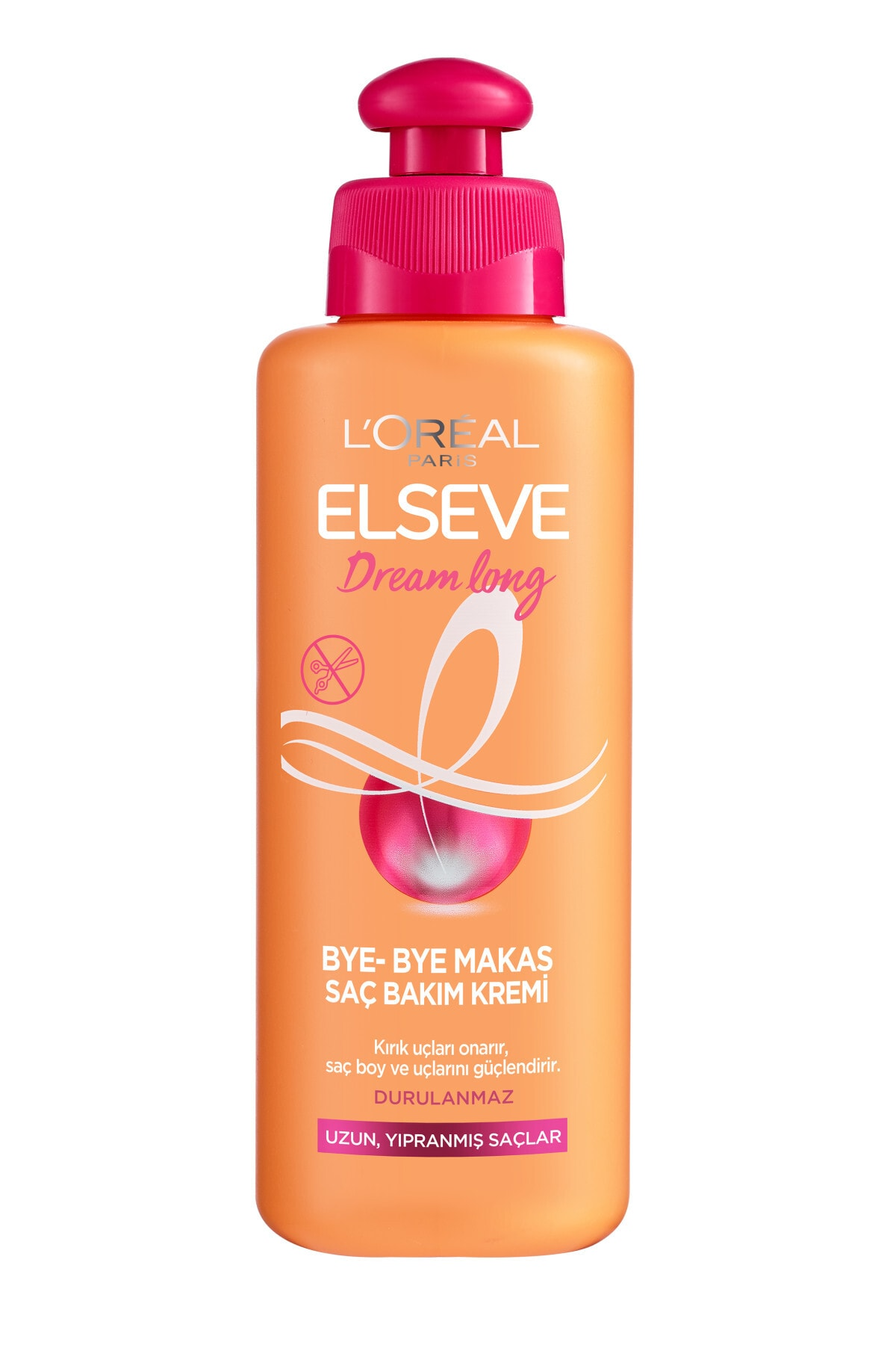 ELSEVE L'oréal Paris Dream Long Bye-bye Makas Saç Bakım Kremi 200 ml 2