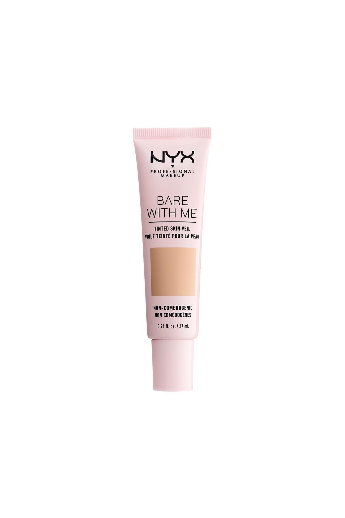 NYX Professional Makeup Renkli Nemlendirici - Bare With Me Skin Veil 03 Natural Soft Beige 800897188238