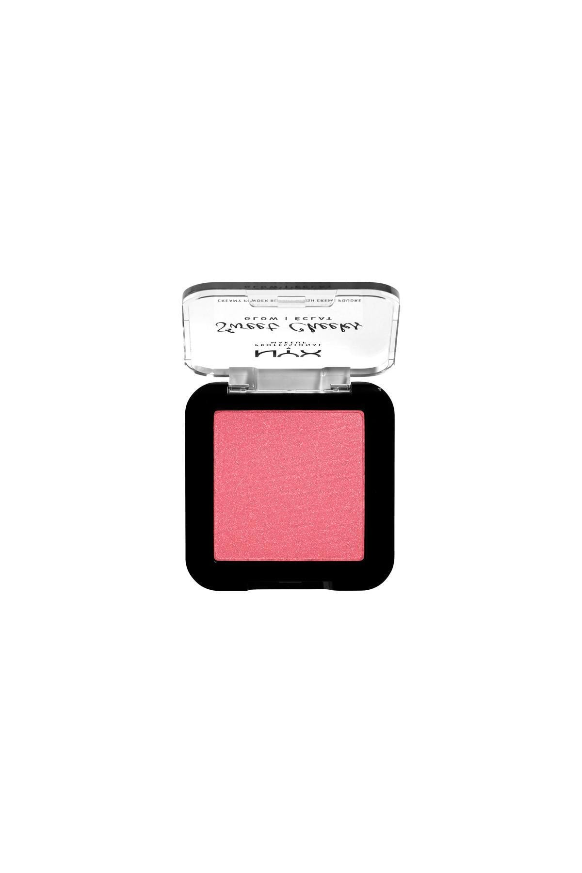 NYX Professional Makeup Işıltı Veren Allık - Sweet Cheeks Creamy Powder Blush Glow - Day Dream 800897192396