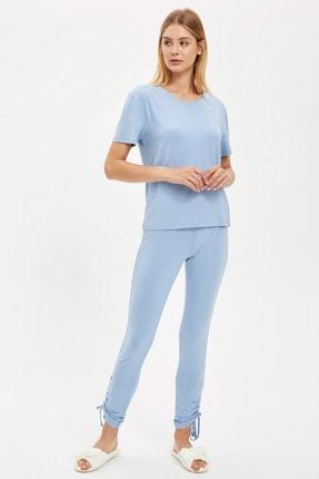 DeFacto Jogger Pantolon Ve Crop Tişört Takım