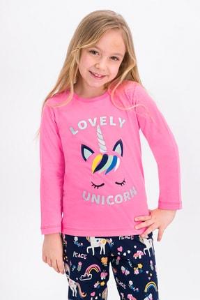 ROLY POLY Pembe Lovely Unicorn Kız Çocuk Pijama Takımı
