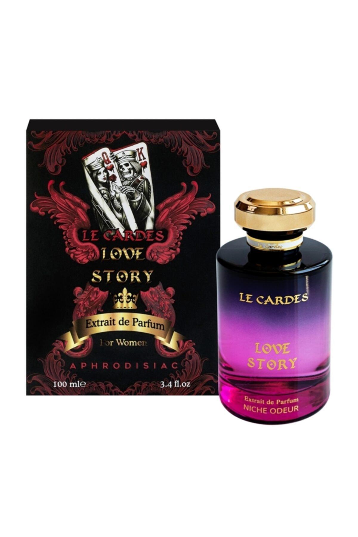 Le Cardes Love Story Aphrodisiac Extrait De Parfüm 100 ml Kadın Parfümü 2