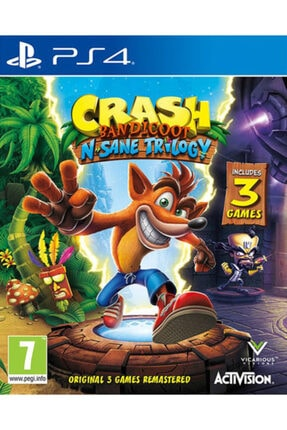 ACTIVISION Crash Bandicoot N. Sane Trilogy Ps4 Oyun