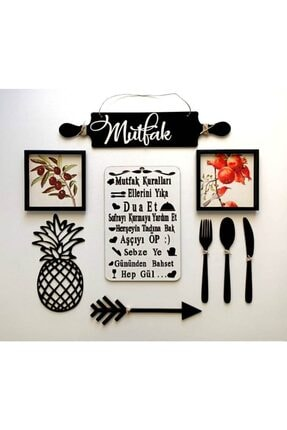 Kaya Hediyelik Dekoratif Mutfak Kuralları Konsepti