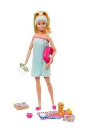 Barbie Wellness Nin Spa Günü Bebekleri Sarı Gkh73-gjg55