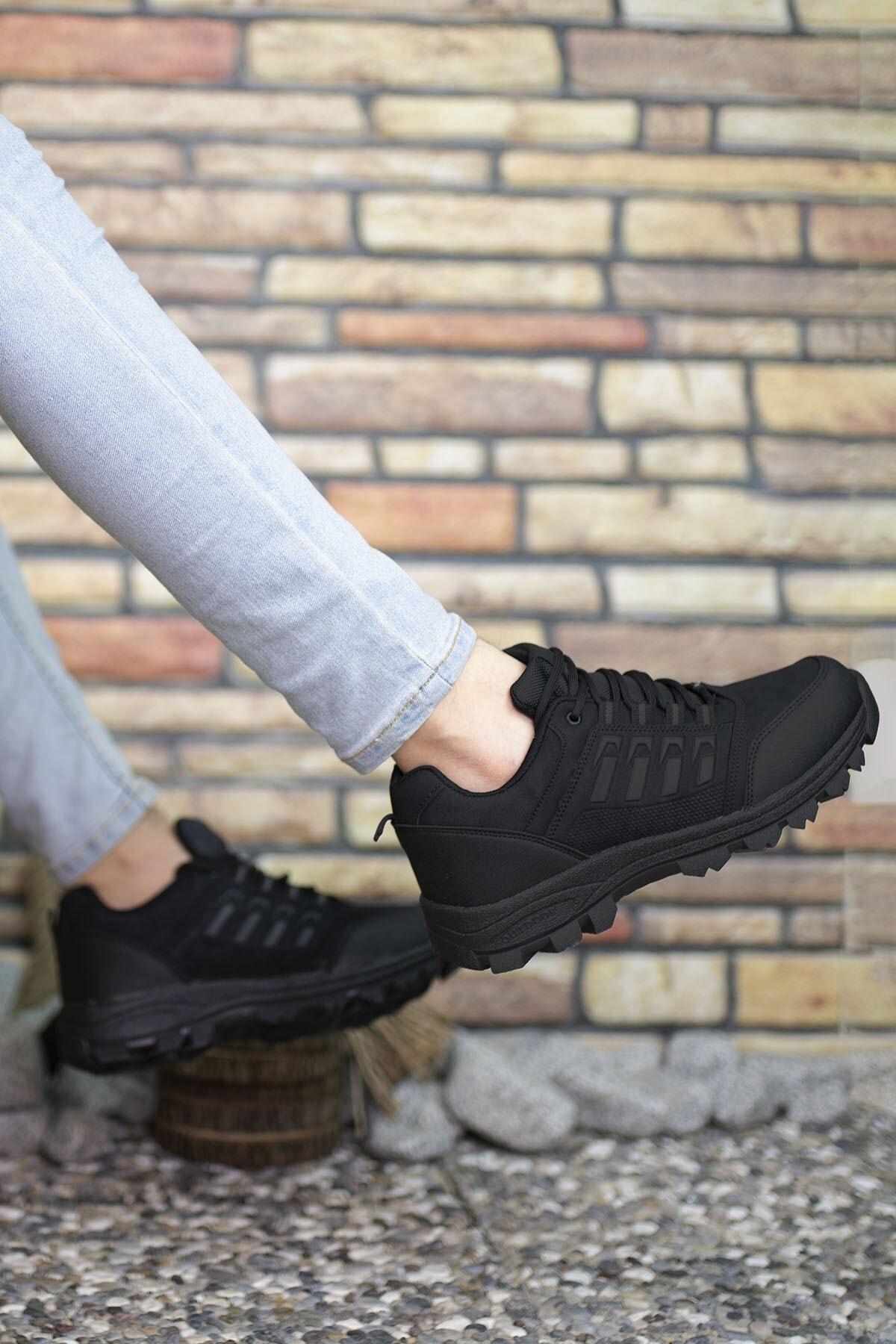 Riccon Siyah Erkek Trekking Ayakkabı 0012x5 2
