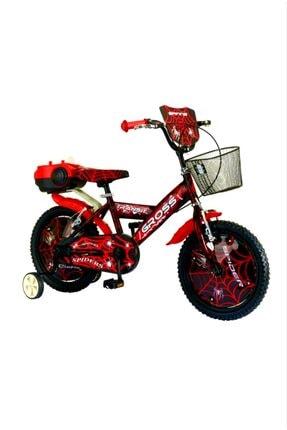 Gross 16 Jant Kırmızı Özel Desen Boya Çocuk Bisikleti