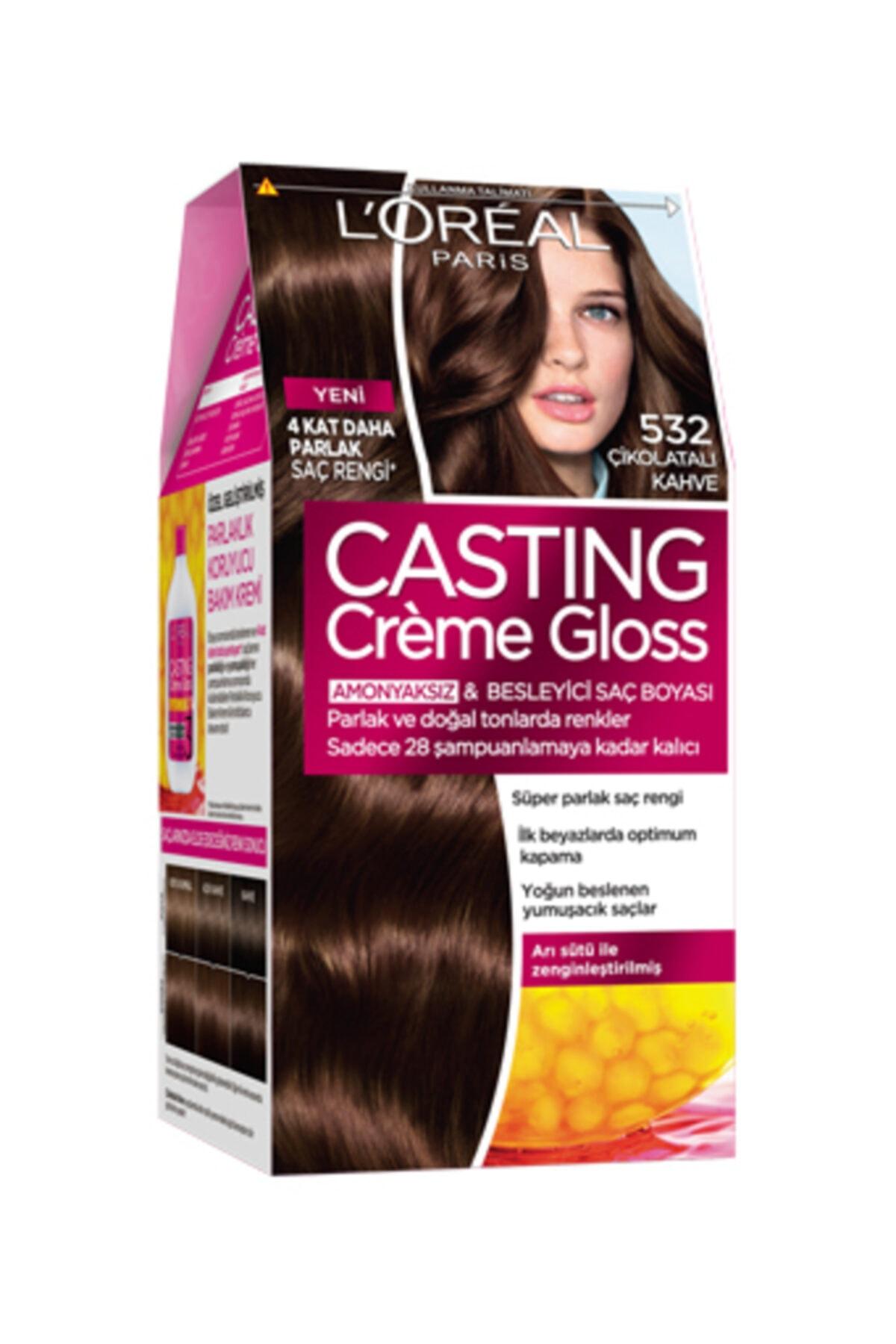 L'Oreal Paris Casting Saç Boyası 5.32 Badem Çikolata 1