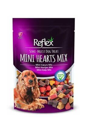 Reflex Plus Yarı Yumuşak Ödül Maması Mini Kalp Mix 150 gr