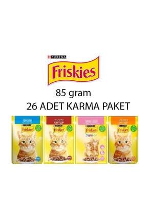 Purina Friskies Karma 26 Adet Karma Paket