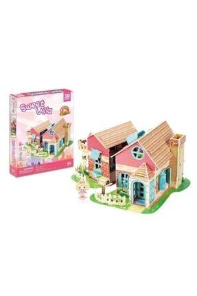 Neco 3d Puzzle Sevimli Villa