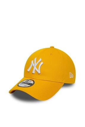 NEW ERA -New York Yankees Essential Yellow 9forty Snapback Şapka