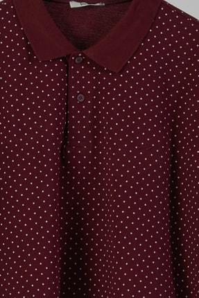 Ltb Erkek  Bordo Polo Yaka T-Shirt 012208452960890000