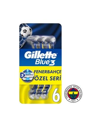 Gillette Blue3 6'lı FB taraftar paketi
