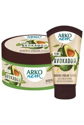 ARKO Nem Değerli Yağlar Avokado Yağı El Ve Vücut Kremi 250  ml& 60 ml