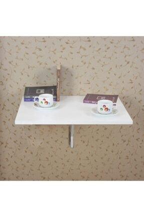 Ankaflex Beyaz Katlanır Duvara Monte Çalışma Masası 45x60 cm
