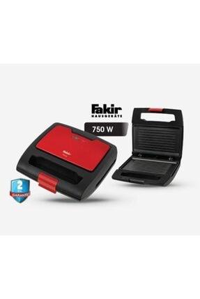Fakir Tina Mini Tost Makinası-kırmızı Siyah